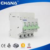 Mini C.C. MCB del corta-circuito de la corriente continua 3p 63A