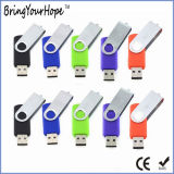 movimentação instantânea da pena do USB do Twister 64GB (XH-USB-001)