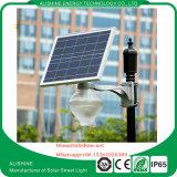 fácil 9W altamente brilhantes instala tudo em uma luz de rua solar do quadrado da plaza