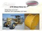 24 дюйма стальное OTR снабжает ободком колеса