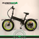 Neumático gordo plegable la bicicleta eléctrica