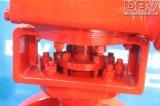 産業Wormgearの低温LC1のフランジの蝶弁