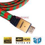 Cable de alta velocidad del diseño único 4k HDMI 2.0