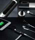 Relámpago hasta el auricular Gato de 3.5m m y el adaptador del cargador para el iPhone 7/7 más