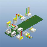 Remplacement terminal d'IDC Rast de Lumberg 3636 séries