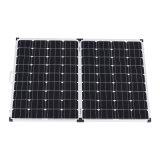 ホーム使用のための200W 12Vのモノラル光起電折りたたみの太陽電池パネル