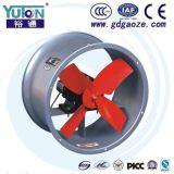 Yuton reparou o ventilador axial da parede da aleta do passo para o armazém