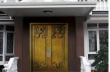 Puerta de acero acorazada del dormitorio de la puerta de Turquía de la puerta (A001)