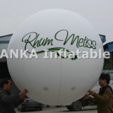 2m Round Inflatable Helium Balloons Sphere per Advertizing