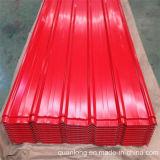 波形の着色された鋼鉄屋根ふきシート
