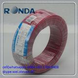 750V milímetro quadrado de fio de cobre revestido do estanho do vermelho 1.5