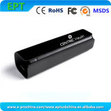 GroßhandelsPortable Mini Black Aluminum 2600mAh Power Bank (EP-066)