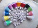 5W 10 LED 플라스틱 다중 색깔 USB 가벼운 램프 전구