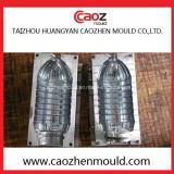 Moldeo por insuflación de aire comprimido de la botella plástica de 2 cavidades en China