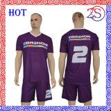 Preiswerte kundenspezifische sublimierte Fußball-Hemd-Großhandelssportkleidung
