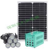 Système portatif à énergie solaire de ventilateur de DC12V de kit solaire d'énergie solaire