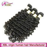 Maschine Weft Malaysian Virgin Hair Sewn in Hair Extensions