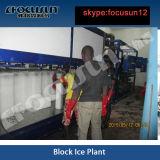 Máquina de gelo nova do bloco avançado