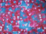 600d High - dichtheid Heart Printing Polyester Fabric met PVC/PU