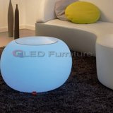 건전지와 RGB 무선 원격 제어 LED 선술집 테이블 세트