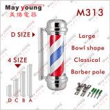 Lumière de Pôle classique de coiffeur de modèle de la vente M313 chaude