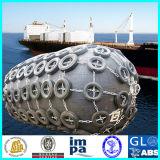 선창에 배 가깝에 사용되는 요코하마 바다 고무 구조망