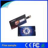 A movimentação de venda quente do flash do USB do cartão de crédito personaliza USB Pendrive