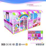 Matériel d'intérieur en plastique de vente chaud de cour de jeu de 2016 gosses pour des enfants