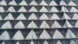 새로운 3D 삼각형은 Flannel 양털 담요/잘린 양털 담요를 돋을새김했다