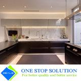 Alta mobilia classica degli armadi da cucina di rivestimento della lacca di lucentezza di colore bianco e nero (ZY 1070)