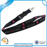 Funny Logoの工場Wholesale Highquality Souvenir Keychain Lanyard