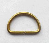 """inarcamenti d'ottone di vendita caldi del metallo dell'anello a """"D"""" dell'inarcamento del rullo della fabbrica di 19*12.5mm"""