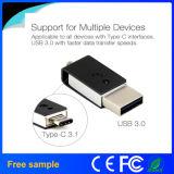 Tipo-c de alta velocidade vara 32GB do USB do USB 3.0 mini OTG