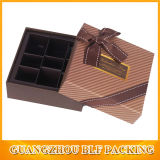 Carton de empaquetage fait sur commande de cadre de papier pour le chocolat