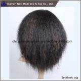 Волосы способа короткие с синтетическим париком