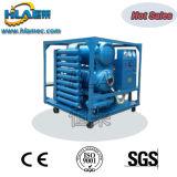 Machine de filtration d'huile isolante de pétrole de transformateur de vide poussé