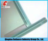 le verre feuilleté de 6.38mm-12.38mm/a gâché des verres de sûreté en verre de verre feuilleté/couche Glass/PVB/avec la couche intercalaire en soie