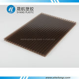 4mm/6mm/8mm/10mm 쌍둥이 Wall Crystal Polycarbonate Board