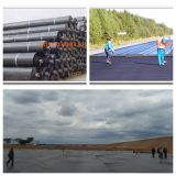 Railway Tunnel에 있는 EVA/Ecb/PE Geomembrane Used