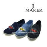 Pattino di Laffer delle calzature di modo delle signore (J2513-L)
