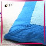 Хлопок напечатал заполненную полиэфиром подушку тела кровати перемещения большую