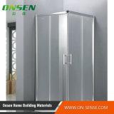 Sitio de ducha de aluminio del recinto de la ducha para la bañera
