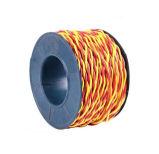 Único fio isolado PVC do condutor do cobre da costa do núcleo para o agregado familiar