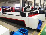 machine d'inscription de gravure de découpage de tube de feuillard de la fibre 1000W