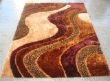 中国ポリエステルハンドメイドのカスタム床のカーペットの敷物およびマット
