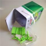Boîte/cadre de bidon/boîte biscuits de bidon/cadre bidon de nourriture avec le dessin-modèle de coutume d'impression