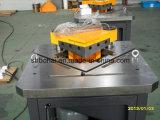 Bohai Marca Fabricación hidráulico muescas en la máquina Qf28y-4X200 ángulo de corte de la máquina