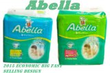 ナイジェリアアフリカのための多彩なPrinting Cheap Abella Baby Diapers