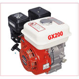 4 치기 5.5HP Single Cylinder Engine 168f Gasoline Engine