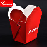 Togliere Paper Fast Food Box con Handle